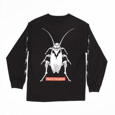 Buttergoods Roach Longsleeve t-shirt BLACK Melbourne, Store, Long Sleeve, T Shirt, Collection, Black, Supreme T Shirt, Tee Shirt, Long Dress Patterns
