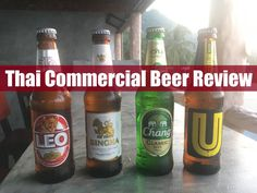 Thai Commercial Beer Review - www.drinkingondimes.com