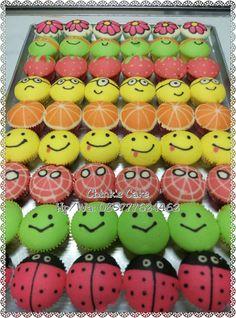 Charbol, bolu fancy, apam dot dot, bolu karakter Steamed Cake, Steamed Buns, Cake Cookies, Cupcake Cakes, Cheese Art, German Cookies, Bun Cake, Resep Cake, Dot Dot