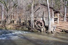 John Wesley Hall Grist Mill and Cotton Gin, Tannehill State Park, Tuscaloosa County, Alabama