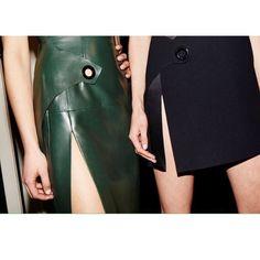 Mugler FW15 on Moda Operandi
