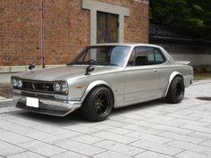 1972 nissan skyline gtr from japan a very beautiful car