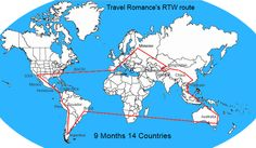 Planning and organising a RTW trip