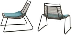 Elba collectie van Urban Danish Design. Ze ziet er sterk, duurzaam en luchtig uit… en dat is ze ook. Bovendien is deze loungechair weerbestendig, stapelbaar én pimpbaar met een hemelsblauw zitkussen. Elba Loungestoel (€ 189) en canvas zitkussen (€ 29)