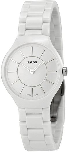 Rado Women's True Thinline Quartz Dial Watch - 15% off, now $1695.0 @ #Gilt #Rado