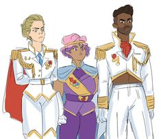 """best friend squad showing up to peacetalks, looking fine as hell"" Yuri, She Ra Princess Of Power, Magical Girl, Fandoms, My Love, Fanart, Cartoons, Geek, Lesbians"