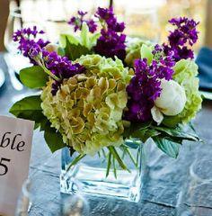 square low vase for centerpiece