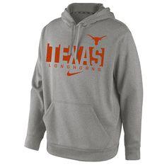 Texas Longhorns Nike Project Fresh 1.0 Performance Hoodie - Dark Gray - $55.99