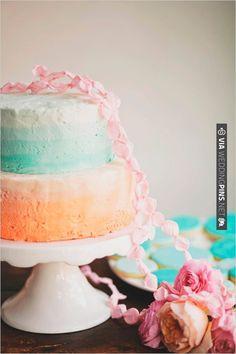 pastel wedding cake   CHECK OUT MORE IDEAS AT WEDDINGPINS.NET   #weddingcakes