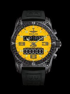 Cockpit - Boutique Edition - Breitling - Instruments for Professionals ceymer 26 Men's Watches, Mens Dress Watches, Breitling Watches, Luxury Watches, Cool Watches, Breitling Navitimer, Automatic Watches For Men, Best Watches For Men, Omega Speedmaster