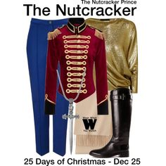 Inspired by Keifer Sutherland (voice) as the title character in 1990's The Nutcracker Prince.
