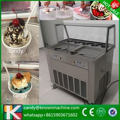 fry ice cream rolling machine for sale fried ice cream machine 2016 (Free shi by sea by air)