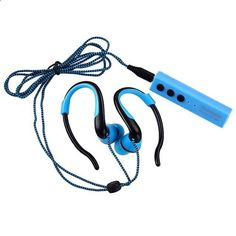 MP3 players for sports ST-001 Sport Wireless Bluetooth Stereo Headset Metal Shoelace Earphone Handsfree Mic 3.5mm Earbuds For Phone MP3 Player - One of the best MP3 players in the market. It is submersible up to two meters, is available in five colors.