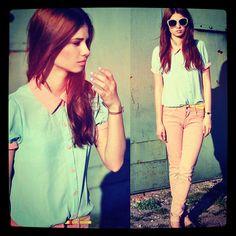 #pasteltones ! {#outfit#cute#pastel#pastelfashion#fashion#fashionista#pastels#classy#jeans#sunnies#girly#summer#want#hair#style#stylish#bestylish#fashionistas} ❂ - @pastel_fashion- #webstagram