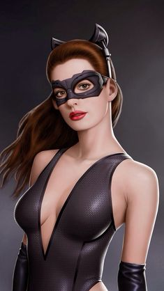 Anne Hathaway as Catwoman