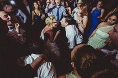 Wedding reception dance party with glasses found on Modern Jewish Wedding Blog  // Chic Modern Russian Jewish Wedding // Photo by IQ Photo Studio //