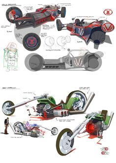 #_# — some Motorcity concept art by Brandon...