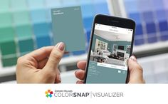 Pick paint colors, app style, with Sherwin-Williams. The ColorSnap® paint color matching app uses your Android or iPhone smartphone to match Sherwin-Williams' paint colors to pictures of your favorite things.