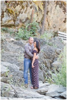 Cascade Mountain Engagement Session