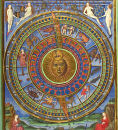 Cod. Pal. germ. 832 Astronomisch-astrologische Heidelberger Schicksalsbuch — Nürnberg, 1491 http://digi.ub.uni-heidelberg.de/diglit/cpg832/