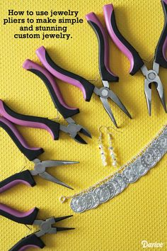 Jewelry Making Basics: How to Use Jewelry Pliers