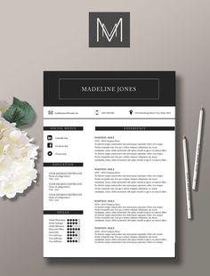 CV et modèle de lettre de motivation modèle par StudioMTemplates