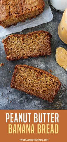 Peanut Butter Banana Bread is a peanut butter lover�s dream banana bread! Enjoy a slice with extra peanut butter or a drizzle of honey and you will be in banana bread heaven. It will be your go to comfort foods! Bake it to believe it!