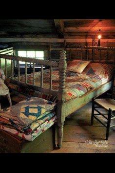 Luv this prim bedroom ♡