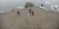 Open page to see many wonderful labyrinths. http://www.huffingtonpost.com/2014/01/13/labyrinths-photos_n_4326303.html