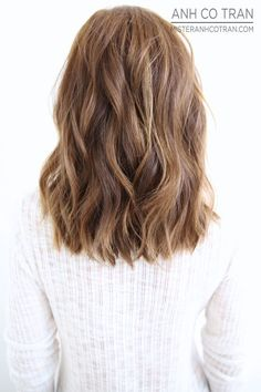 MIDLENGTH. Cut/Style: Anh Co Tran • IG: @Anh Co Tran • Appointment inquiries please call Ramirez Tran Salon in Beverly Hills at 310.724.8167.