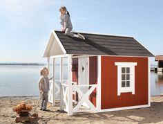 Swedish cottage / Spielhaus / Schwedenhaus / Spielhaus am Strand