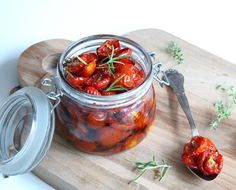 Semidried tomater med krydderurter