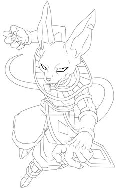 bills by warren-morelos on DeviantArt Goku Drawing, Ball Drawing, Dragon Ball Image, Dragon Ball Gt, Dbz Drawings, Dragon Sketch, Z Arts, Sketches, Manga Girl