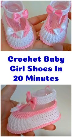 Crochet Baby Girl Shoes In 20 Minutes - Crochet Ideas Crochet Baby Girl Shoes In 20 Minutes. Crochet Baby Girl Shoes In 20 Minutes - Crochet Ideas Crochet Baby Girl Shoes In 20 Minutes. Baby Girl Shoes, Girls Shoes, Easy Crochet Patterns, Crochet Ideas, Toddler Christmas, Shoe Pattern, Crochet Cross, Crochet Baby Booties, Crochet Fashion