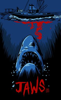 Welcome To The CREEPSHOW — midnightmurdershow:   Jaws by colemunrochitty