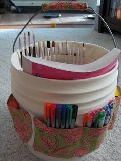 Art Bucket - cool idea