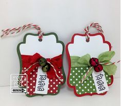 Good Morning Everyone!!!  Happy Friday!  Know what that means....besides the day before Saturday...LOL  It is time for a brand new   Be In... Christmas Paper Crafts, Stampin Up Christmas, Christmas Gift Tags, Xmas Cards, Handmade Christmas, Gift Cards, Christmas Candy, Holiday Cards, Christmas Wrapping