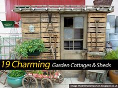 19 Charming Garden Cottages and Backyard Sheds