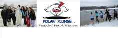 Taking a Polar Plunge for a good cause :) & a checkmark on my daughter's bucketlist