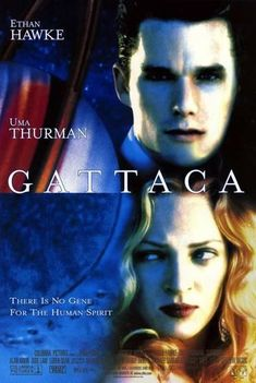 Gattaca movie poster. 1997.