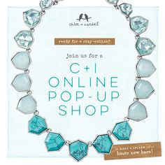 Check out my online pop up at:  http://www.chloeandisabel.com/boutique/rlacy/448277