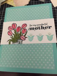 Mothers day card delightful dozen