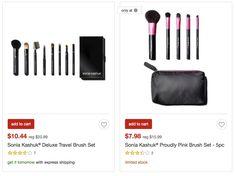 Target: Sonia Kashuk brush sets 50% off
