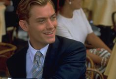 REPIN if you love Jude Law in his dashing blue suit - The Talented Mr Ripley.