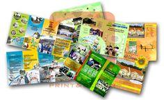 Jasa percetakan murah brosur, leaflet   PRINTING BERKUALITAS DAN TERPERCAYA   LAYANAN ANTAR JEMPUT #percetakan #mediapromosi