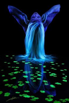 Black Light Bodyscapes by John Poppleton | Inspiration Grid | Design Inspiration