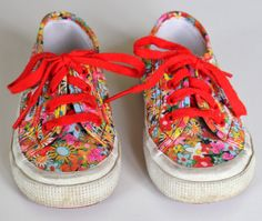 Kids Superga Floral Sneakers