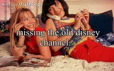 Yes especially That's So Raven and Lizzie McGuire