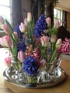 Heerlijke bolbloemen creatie