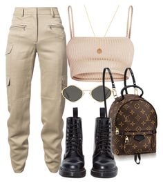 """Untitled #4094"" by camilae97 ❤ liked on Polyvore featuring Sies Marjan and Dr. Martens"